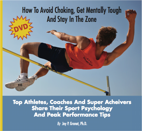 How elite athletes can learn to avoid choking
