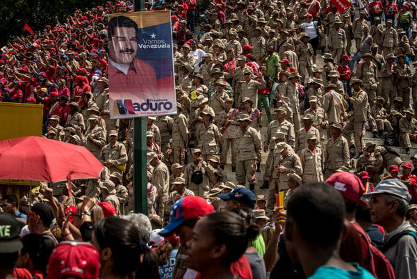 'I Give and You Give': Venezuela's Leader Dangles Food for Votes