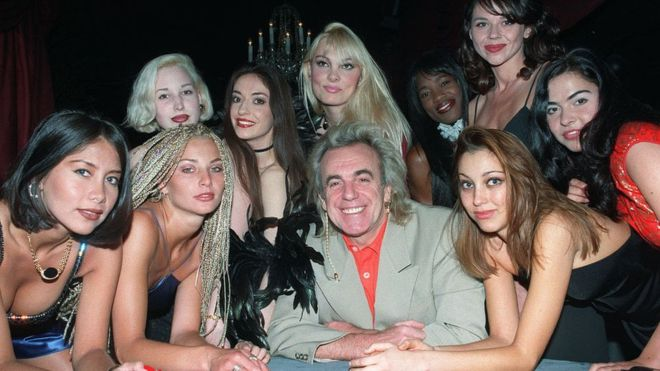 In pictures: Peter Stringfellow 'King of Clubs'