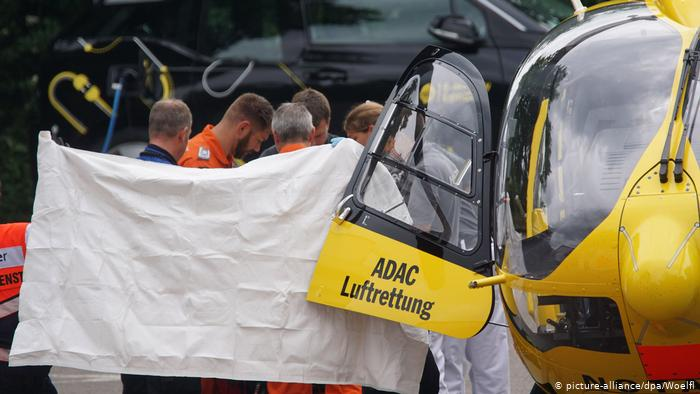 Iranian Rejected for Asylum in Germany Sets Himself on Fire