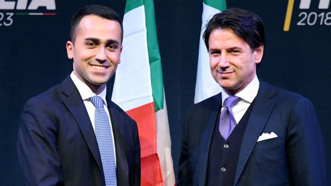 Italy's Populists Move Closer to Power, With Little-Known Pick for Prime Minister