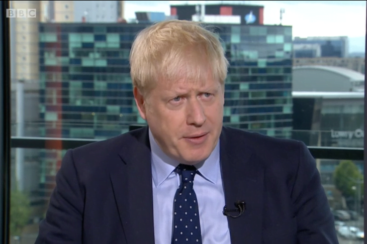 "Johnson says that the chances of an agreement on Brexit depend on the ""common sense"" of the EU"