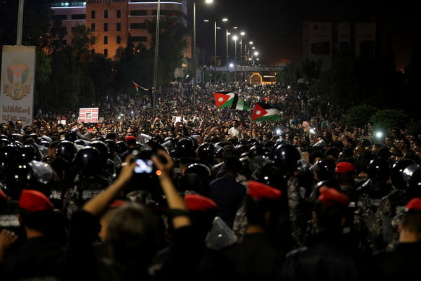 Jordan's Prime Minister Quits as Protesters Demand an End to Austerity