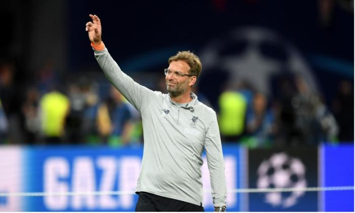 Klopp sings with Liverpool fans after defeat