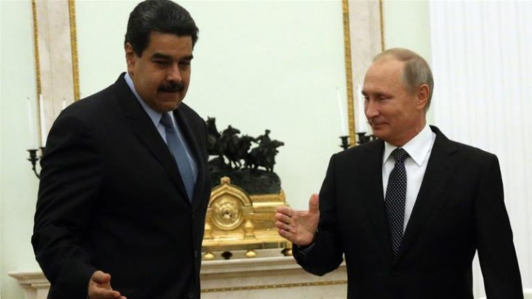 Maduro travels to Russia to meet with Putin