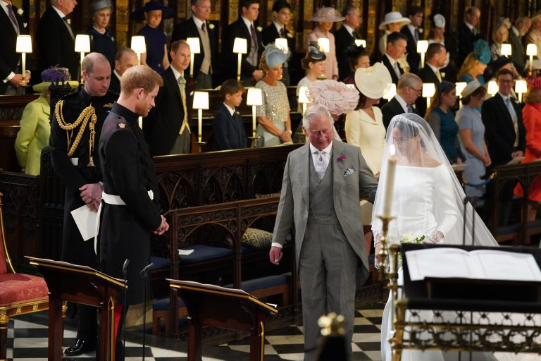Meghan Markle to Walk Down the Aisle With Prince Charles