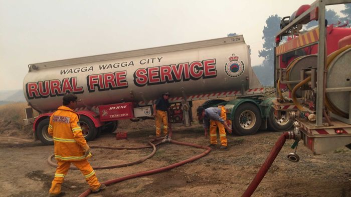 Milder conditions to help Grampians firefighters
