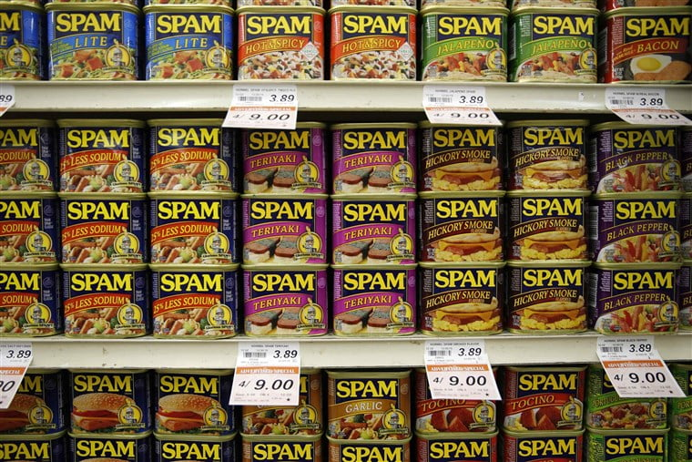 More than 228,000 pounds of Spam recalled