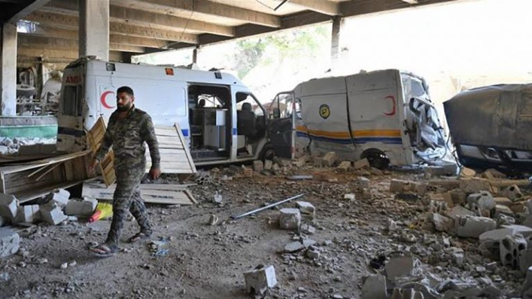 More than a thousand civilians have died from the offensive of the Syrian regime in Idlib, according to the UN