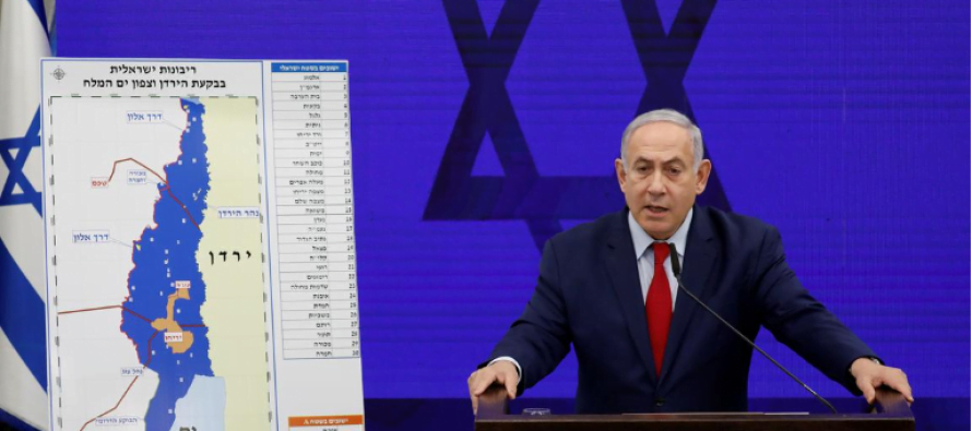 Netanyahu announces that Israel will annex the Jordan Valley if it wins the elections