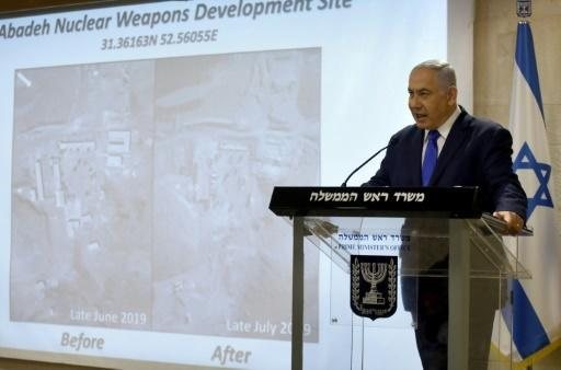 Netanyahu denounces a new Iranian secret facility for the development of nuclear weapons