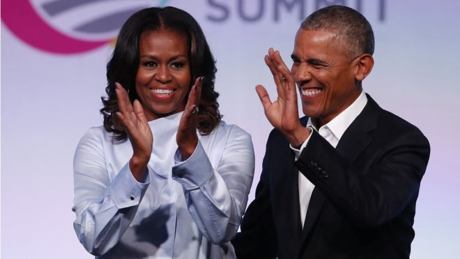 Netflix deal will give Obamas a global platform in the Trump era