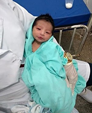 Newborn baby buried alive for seven hours