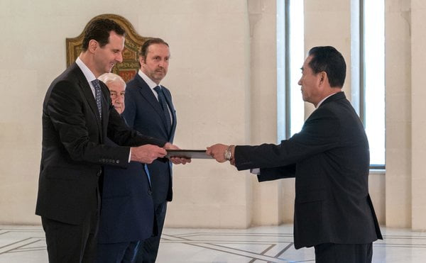 North Korea Says Syria's Assad Will Visit With Kim