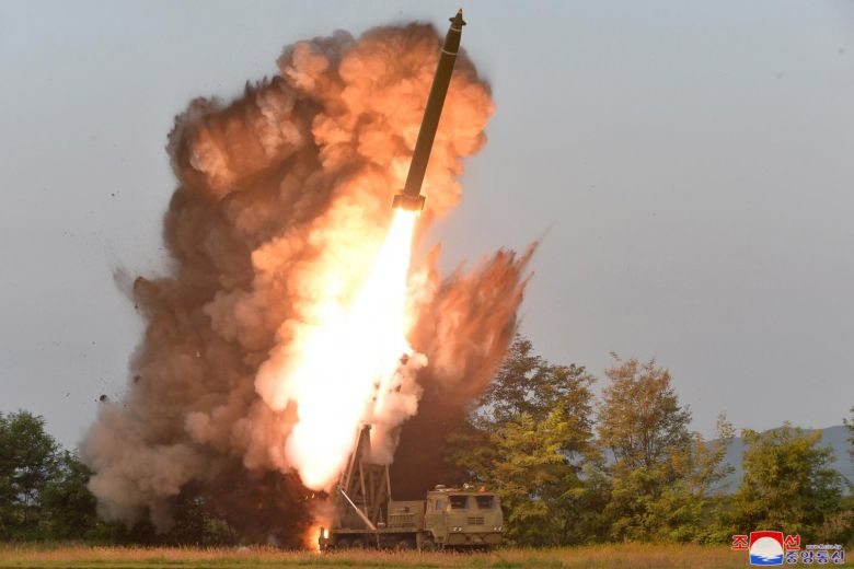 North Korea tests a missile launcher with the latest launch of two short-range projectiles