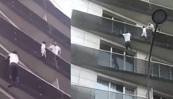'Spider-Man,' a Migrant in Paris, Scales Building to Save a Child