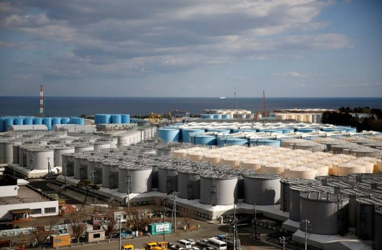 TEPCO plans to pour radioactive water from the Fukushima nuclear power plant to the Pacific Ocean