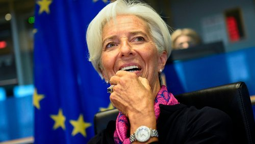 The Eurocamara approves the appointment of Lagarde as president of the ECB