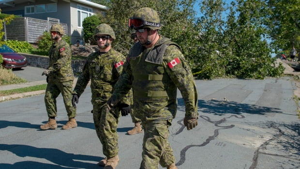 The Government of Canada authorizes the Army to help with the cleaning work after the passage of Hurricane 'Dorian'