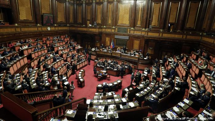The Italian Parliament gives the green light to the new Government Conte supported by M5S and PD