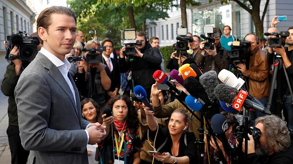 The Kurz OVP is clearly imposed in the Austrian elections