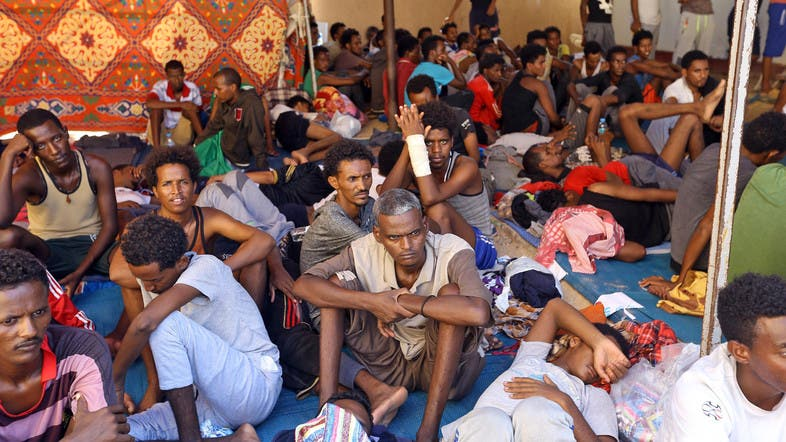 The Libyan Coast Guard rescues about 500 immigrants in the region surrounding Tripoli