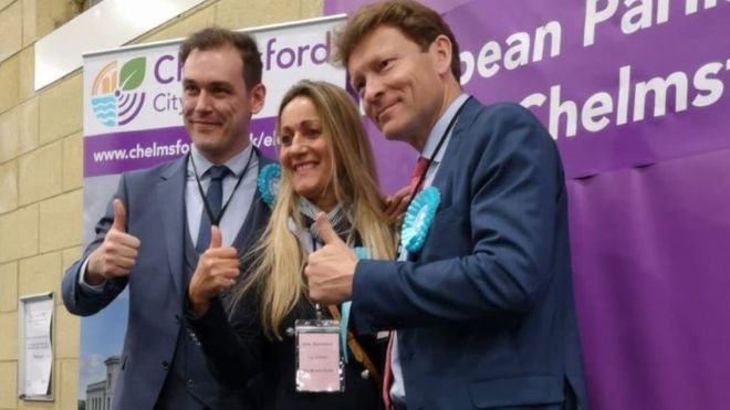 The MEPs of the Brexit Party, the winners outside the Eurocamara