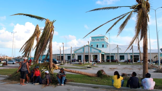 The number of dead in Bahamas rises to 43 due to the passage of hurricane 'Dorian'