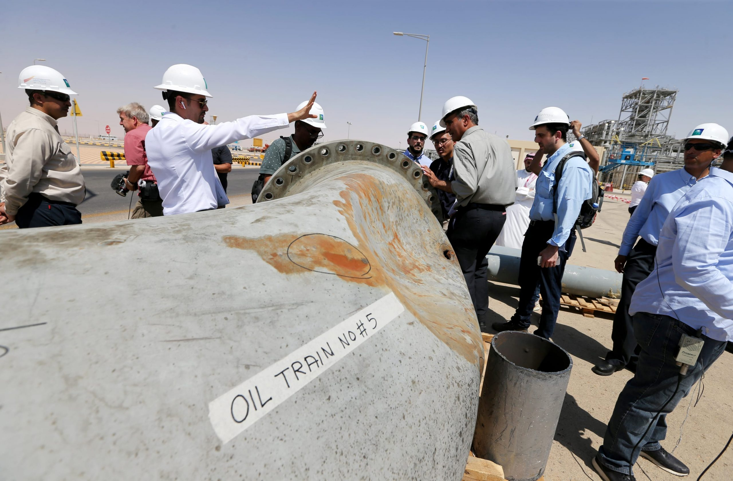 """The president of Aramco says that the oil company is """"stronger than ever"""" after the attacks"""