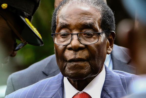 The president of Zimbabwe reveals that Mugabe died of cancer