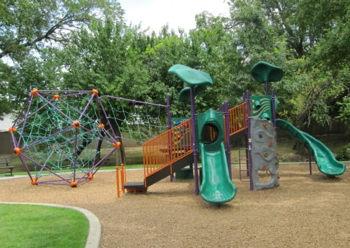 The traditional playground is getting a makeover