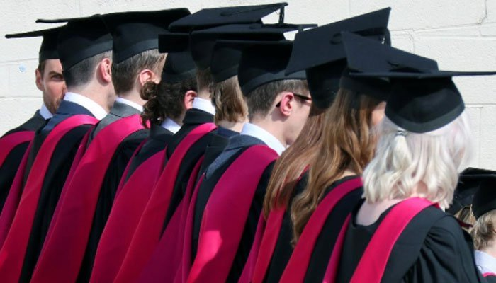 The United Kingdom will allow foreign students to remain in the country two years after graduation