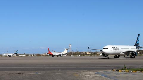 Tripoli airport suspends operations again due to artillery attack