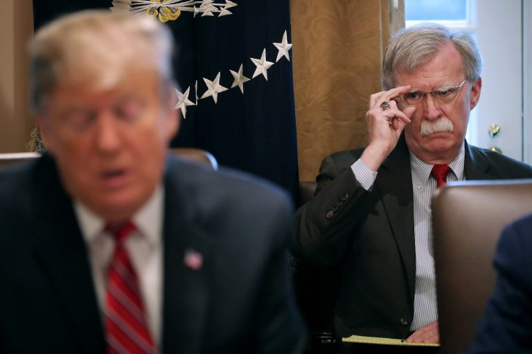 Trump dispenses with John Bolton for his disagreements