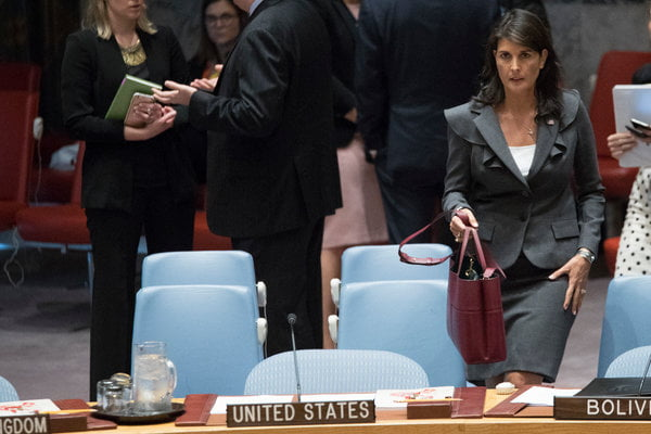U.S. Vetoes U.N. Resolution on Gaza, Fails to Win Second Vote on its Own Measure