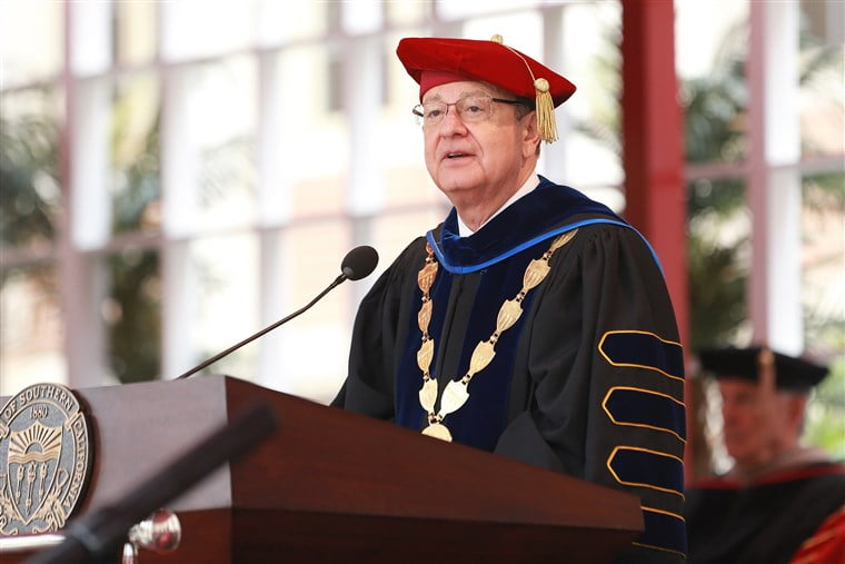 USC president to resign amid sex abuse scandal