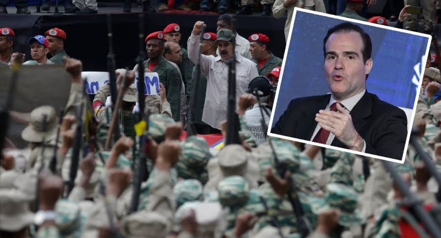 """Venezuela begins military exercises at the border against the """"real threat"""" of Colombia"""