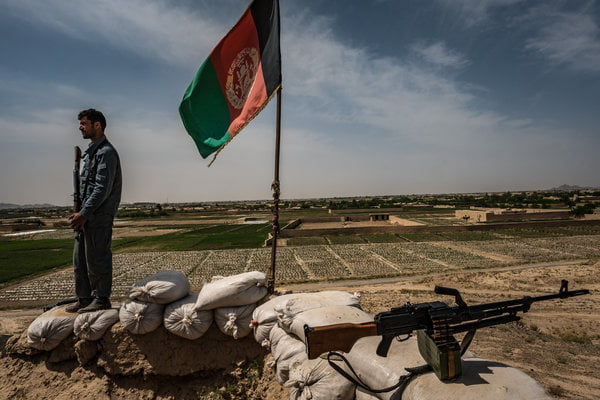 Afghan Forces Battle Taliban for Control of Western City, Farah
