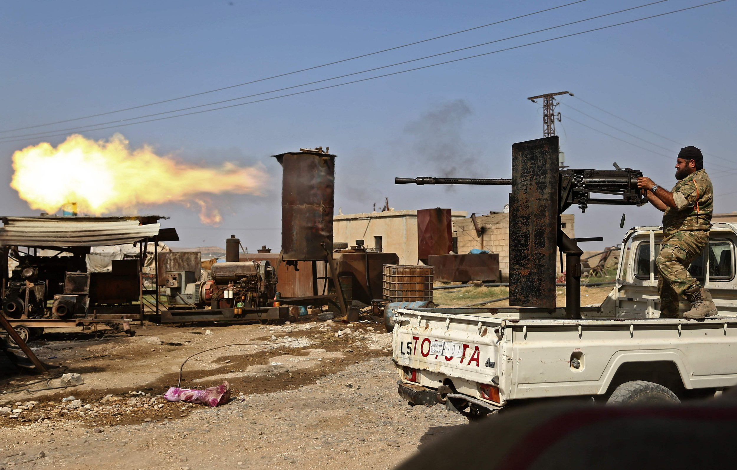 At least 785 foreign Islamic State supporters escape from the Ain Issa camp