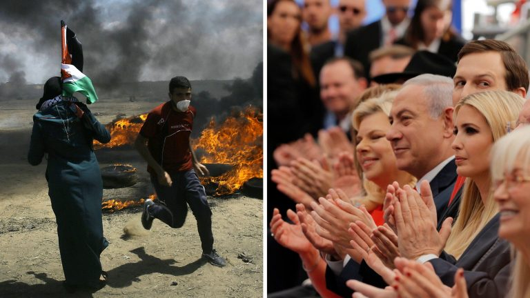 Death in Gaza, New Embassy in Jerusalem, and Peace as Distant as Ever