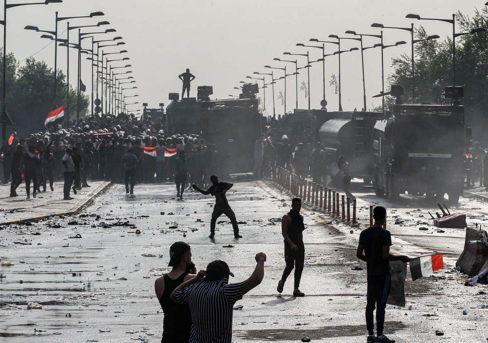 Eight dead and 25 injured in new riots in Baghdad, Iraq