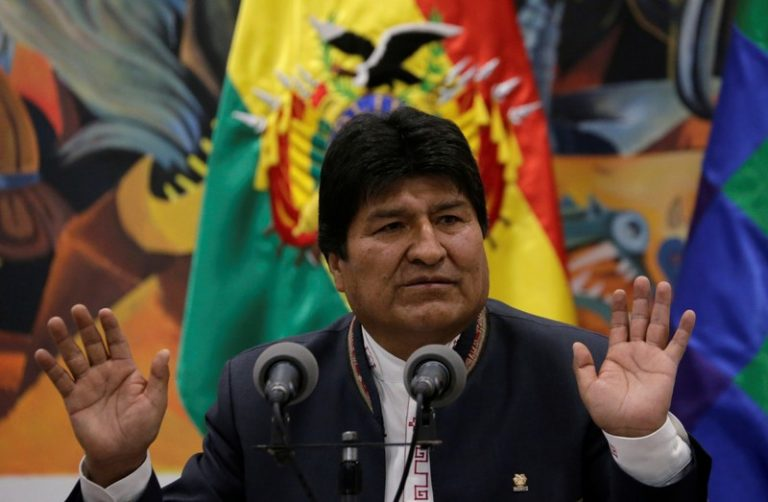 Evo Morales says that if fraud is demonstrated, he will convene the second round of the presidential
