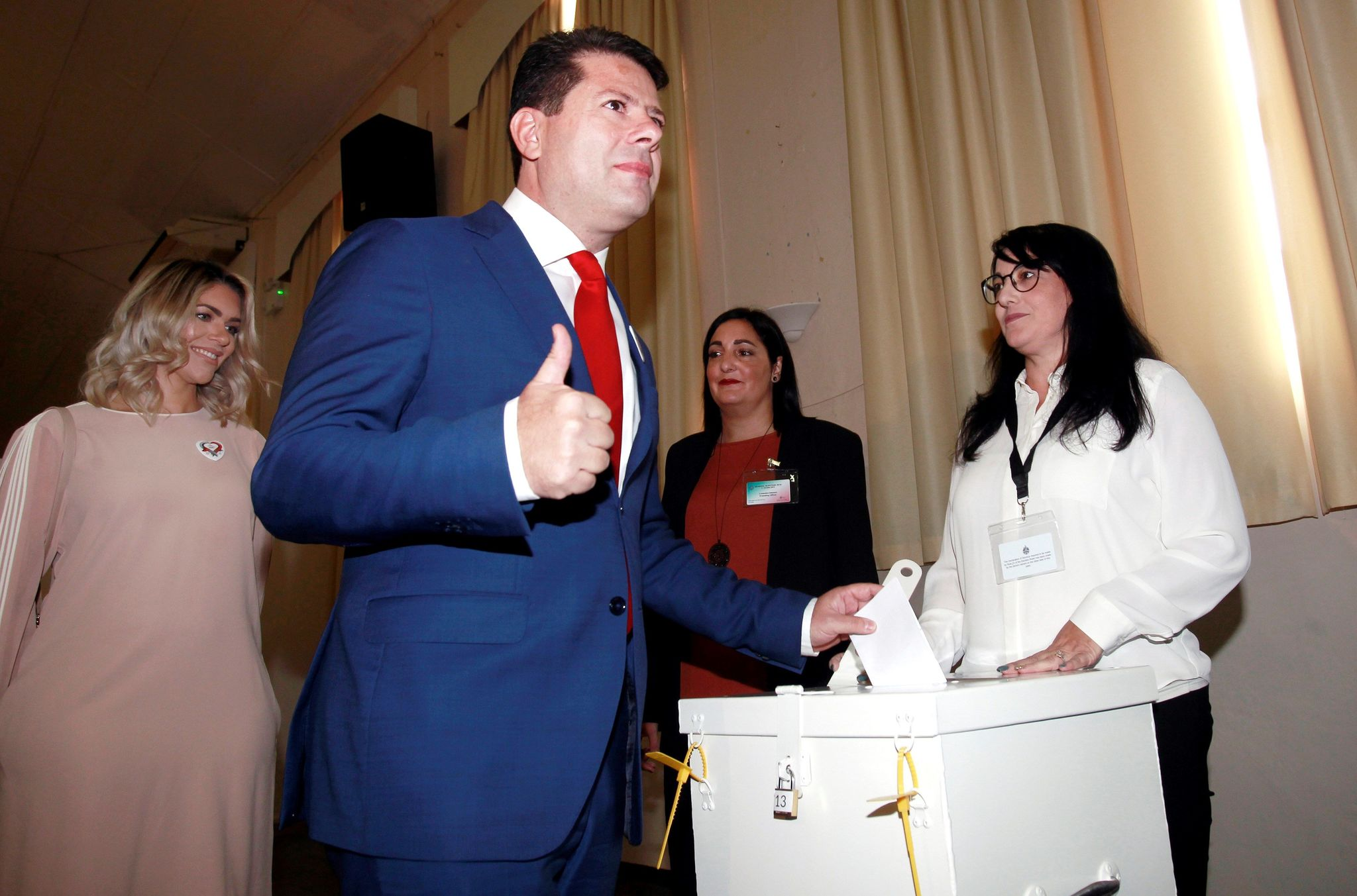 Fabian Picardo wins the Gibraltar elections again and faces his third term