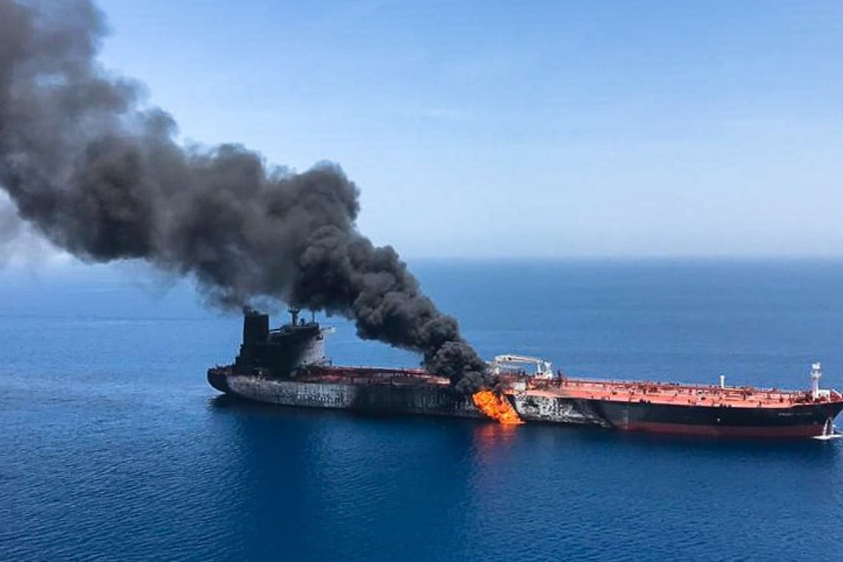 Iran warns that it will give a harsh response to those responsible for the attack against one of its tankers