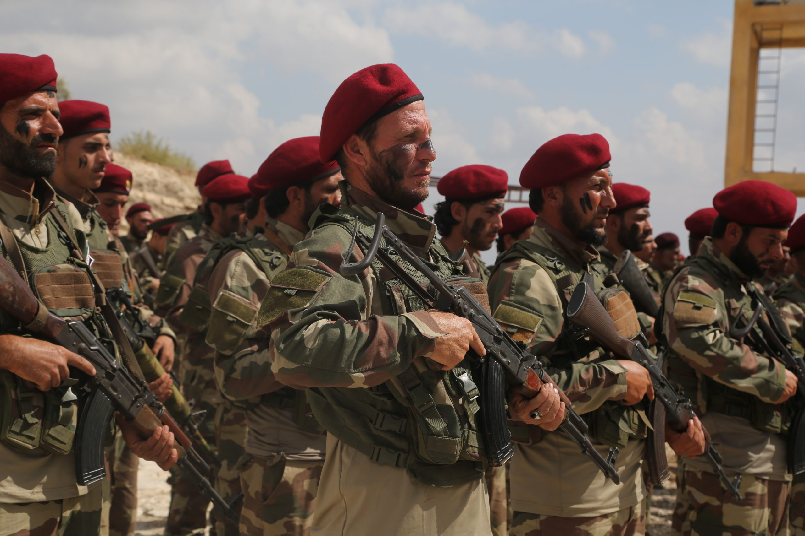 Kurdish militias launch a counteroffensive to recover Ras al Ain from Turkey's allied rebels