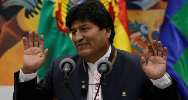 Mesa, willing to accept the OAS electoral audit if Morales gives it a binding character