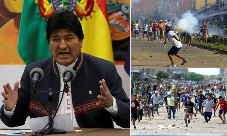 """Morales proclaims winner in Bolivia and denounces a """"coup d'etat"""" of the right"""