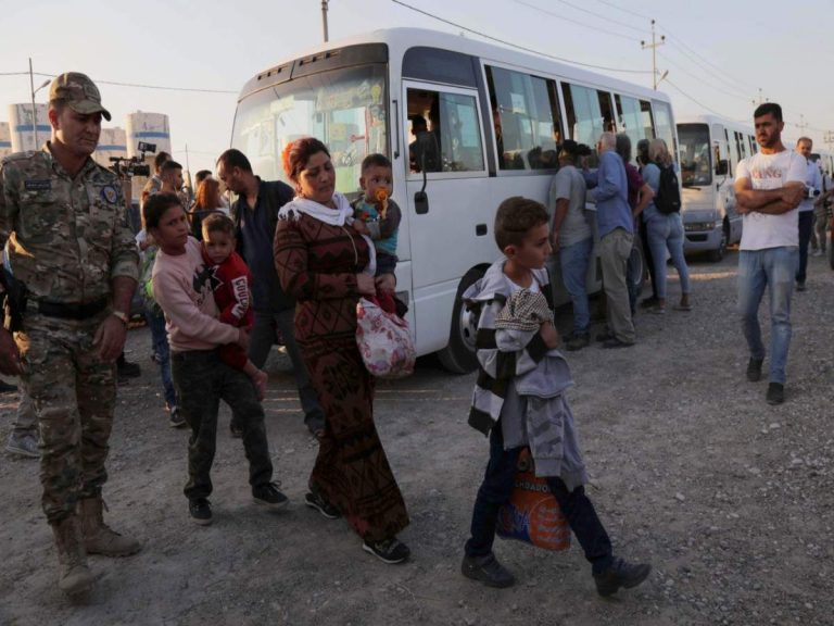 More than 1,600 Syrians have fled to Iraq after the start of the Turkish offensive