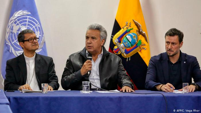 Moreno officially repeals the decree that increased the price of fuels in Ecuador
