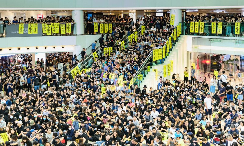New mass mobilization in Hong Kong despite authorities ban